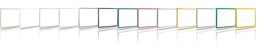 A dekoratív belső keretek elérhető színei